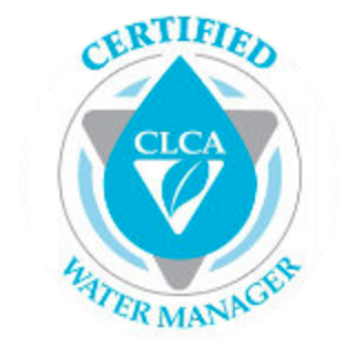 Certified CLCA Water manager